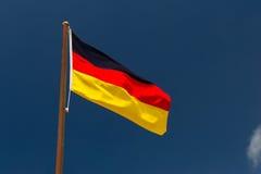 Γερμανική σημαία Στοκ εικόνα με δικαίωμα ελεύθερης χρήσης