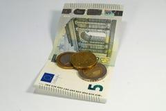 Γερμανικοί βασικός μισθός και χρήματα Στοκ φωτογραφία με δικαίωμα ελεύθερης χρήσης
