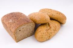 γερμανικοί ρόλοι ψωμιού Στοκ εικόνα με δικαίωμα ελεύθερης χρήσης