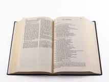 γερμανικοί ψαλμοί Βίβλων Στοκ Φωτογραφία