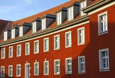 γερμανικός κατοικημένος χαρακτηριστικός σπιτιών στοκ φωτογραφίες με δικαίωμα ελεύθερης χρήσης