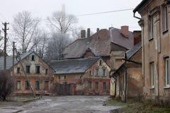 γερμανικός παλαιός κτηρίων στοκ εικόνα με δικαίωμα ελεύθερης χρήσης