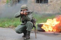 γερμανικός στρατιώτης Στοκ Φωτογραφίες