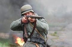 γερμανικός στρατιώτης Στοκ φωτογραφία με δικαίωμα ελεύθερης χρήσης