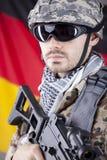γερμανικός στρατιώτης στοκ εικόνα