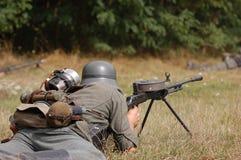 γερμανικός στρατιώτης ww2 Στοκ εικόνα με δικαίωμα ελεύθερης χρήσης