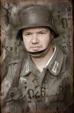 γερμανικός στρατιώτης ww2 Στοκ Φωτογραφία