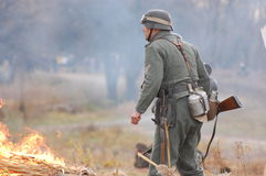γερμανικός στρατιώτης ww2 Στοκ φωτογραφίες με δικαίωμα ελεύθερης χρήσης