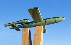 Γερμανικός V1 πύραυλος από WWII Στοκ φωτογραφία με δικαίωμα ελεύθερης χρήσης