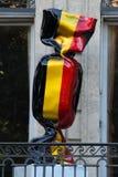 Γερμανικό άγαλμα καραμελών στη Γαλλία στοκ φωτογραφίες με δικαίωμα ελεύθερης χρήσης