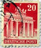 γερμανικό γραμματόσημο Στοκ Εικόνα