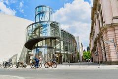Γερμανικό ιστορικό μουσείο στο Βερολίνο την ηλιόλουστη ημέρα Στοκ Εικόνες
