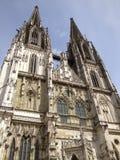Γερμανικό καμπαναριό καθεδρικών ναών Στοκ Εικόνες