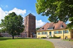 Γερμανικό μουσείο πόλεων Wittstock/Dosse το καλοκαίρι Στοκ Φωτογραφίες