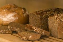 Γερμανικό ολόκληρο ψωμί γεύματος Στοκ Φωτογραφία