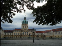 Γερμανικό παλάτι Στοκ εικόνες με δικαίωμα ελεύθερης χρήσης