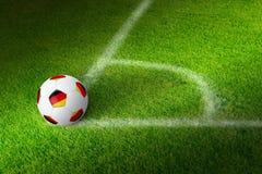 γερμανικό ποδόσφαιρο Στοκ Εικόνες