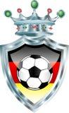 γερμανικό ποδόσφαιρο Στοκ εικόνες με δικαίωμα ελεύθερης χρήσης