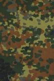 Γερμανικό στρατιωτικό ύφασμα κάλυψης flecktarn Στοκ εικόνα με δικαίωμα ελεύθερης χρήσης