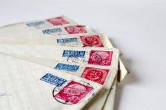γερμανικό ταχυδρομείο Στοκ Εικόνες