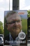Γερμανικό τοπικό elections_make Βερολίνο ισχυρότερο Στοκ φωτογραφία με δικαίωμα ελεύθερης χρήσης