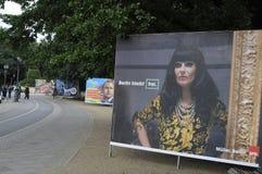 Γερμανικό τοπικό elections_make Βερολίνο ισχυρότερο Στοκ φωτογραφίες με δικαίωμα ελεύθερης χρήσης