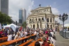 Γερμανικό φεστιβάλ στη Φρανκφούρτη Στοκ εικόνα με δικαίωμα ελεύθερης χρήσης