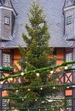 Γερμανικό χριστουγεννιάτικο δέντρο Στοκ φωτογραφία με δικαίωμα ελεύθερης χρήσης
