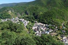 γερμανικό χωριό κοιλάδων Στοκ Φωτογραφία