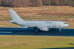 Γερμανικό airbus Πολεμικής Αεροπορίας A310 Στοκ φωτογραφία με δικαίωμα ελεύθερης χρήσης