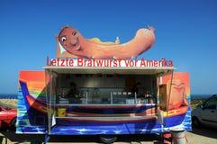 Γερμανικό bratwurst Στοκ φωτογραφία με δικαίωμα ελεύθερης χρήσης