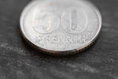 50 γερμανικό pfennig Στοκ Εικόνες