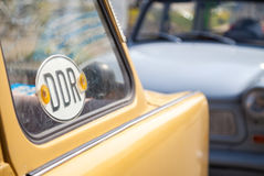 Γερμανικό trabant αυτοκίνητο της ΟΔΓ Στοκ εικόνες με δικαίωμα ελεύθερης χρήσης