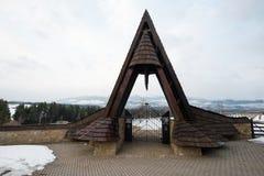 Γερμανικό WWII στρατιωτικό νεκροταφείο σε Vazec, Σλοβακία Στοκ Εικόνες