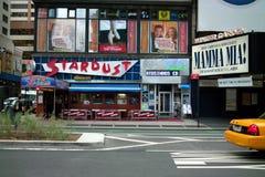 Γευματίζων αισθήσεων μαγείας, Broadway Νέα Υόρκη στοκ εικόνα με δικαίωμα ελεύθερης χρήσης