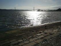 γεφυρώστε τη Λισσαβώνα Στοκ Εικόνες