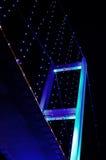 γεφυρώστε τη νύχτα Στοκ Φωτογραφίες