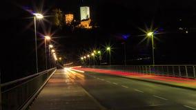 γεφυρώστε τη νύχτα Στοκ εικόνες με δικαίωμα ελεύθερης χρήσης