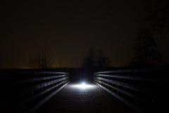 γεφυρώστε τη νύχτα Στοκ εικόνα με δικαίωμα ελεύθερης χρήσης