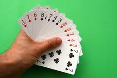 γεφυρώστε τις κάρτες Στοκ Εικόνες