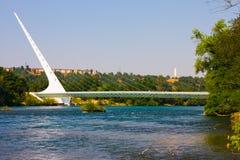 γεφυρώστε το ηλιακό ρολόι Στοκ Φωτογραφίες