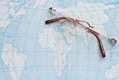 γεωγραφία εκπαίδευσης στοκ εικόνα
