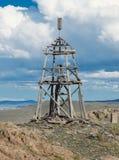 γεωδεσικός πύργος ξύλιν&om Στοκ φωτογραφίες με δικαίωμα ελεύθερης χρήσης