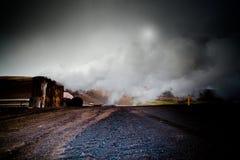Γεωθερμικά ενεργό έδαφος στο hverir Ισλανδία Στοκ φωτογραφία με δικαίωμα ελεύθερης χρήσης