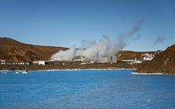 Γεωθερμικά ενεργό έδαφος Στοκ φωτογραφία με δικαίωμα ελεύθερης χρήσης