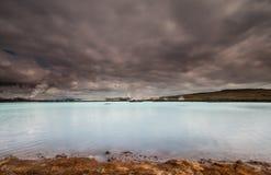 Γεωθερμικές εγκαταστάσεις παραγωγής ενέργειας, Ισλανδία. Στοκ φωτογραφίες με δικαίωμα ελεύθερης χρήσης