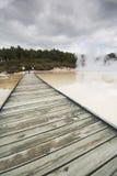γεωθερμικές λίμνες Στοκ εικόνα με δικαίωμα ελεύθερης χρήσης