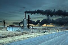 Γεωθερμική ενέργεια Ισλανδία Στοκ Φωτογραφία