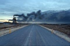 Γεωθερμική ενέργεια Ισλανδία Στοκ φωτογραφία με δικαίωμα ελεύθερης χρήσης