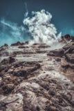 Γεωθερμικός ατμός σε HDR στοκ εικόνα με δικαίωμα ελεύθερης χρήσης